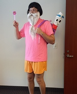 Dumbledora the Explorer Homemade Costume
