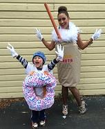 Dunkin' Donuts Homemade Costume