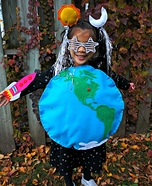 Earth and Beyond Homemade Costume