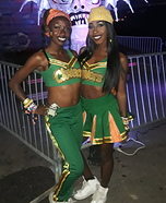 East Compton Clover Cheerleader Homemade Costume