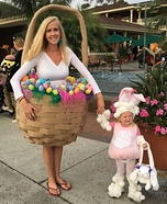 Easter Bunny and Basket Costume