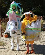 Easter Bunny and Company Homemade Costume