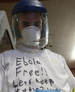 Ebola Schmola Homemade Costume