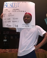 EBT Card Homemade Costume