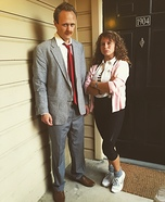 Ed Rooney and Jeanie Bueller Homemade Costume