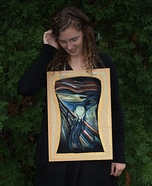 Edvard Munch's Scream Homemade Costume