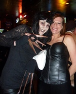 Edward Scissor Hands Costume for a Women