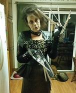 Edward Scissor Hands Female Homemade Costume