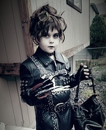 Edward Scissorhand Homemade Costume