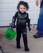 Edward Scissorhands Kids Costume