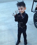 Edward Scissorhands Boy's Homemade Costume