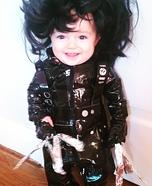 Edward Scissorhands Baby Homemade Costume