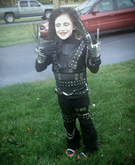 Edward Scissorhands Girl Homemade Costume