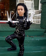 Edward Scissorhands Girl's Homemade Costume