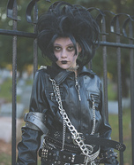 Edward Scissorhands Girls Homemade Costume