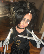 Edward Sissorhands Homemade Costume
