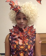 Halloween costume ideas for girls: Effie Trinket from Hunger Games Costume