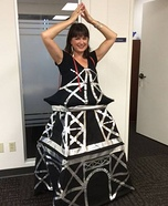 Eiffel Tower Homemade Costume