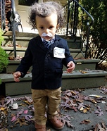 Einstein Baby Homemade Costume