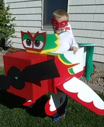 El Chupacabra Plane Homemade Costume