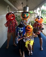 Electric Mayhem Band Homemade Costume