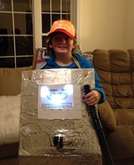 Electric Vehicle Charging Station Homemade Costume