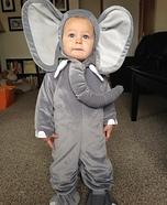 Elephant Baby Costume