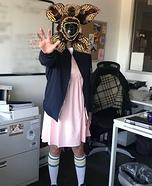 Eleven as the Demogorgon Homemade Costume
