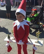 Children's book Halloween costumes - Elf on the Shelf Costume