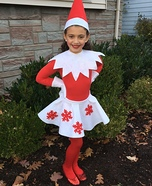 Girly Elf on the Shelf Costume