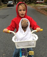 Elliot and E.T. Homemade Costume