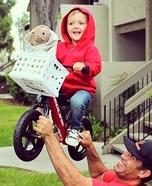Elliott and ET Toddler Costume