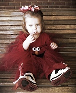 Elmo Homemade Costume