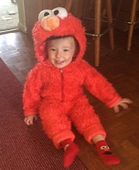 Cute Elmo Baby Costume