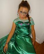 Elsa Broken Doll Homemade Costume