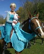 Elsa, Sven & Olaf Homemade Costume