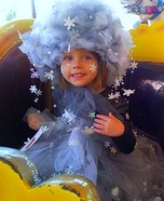 Elsa's Snow Storm Homemade Costume