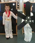 Elvis Fan Homemade Costume