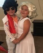 Elvis & Marilyn Homemade Costume