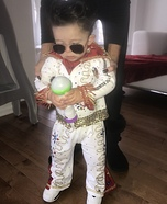 Elvis Presley Homemade Costume