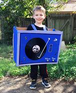 Elvis Record Player Homemade Costume