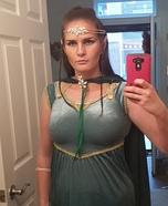 Elvish Princess Homemade Costume