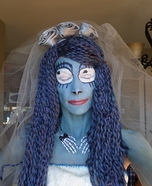 Emily Corpse Bride Homemade Costume