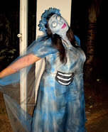 Halloween costume ideas for girls: Emily from Corpse Bride Halloween Costume