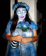 Emily from Corpse Bride Halloween Costume