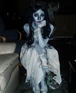Emily from Corpse Bride Homemade Costume