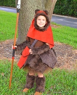 Emma the Ewok Homemade Costume