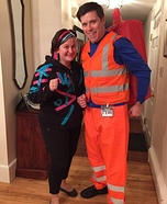 Emmet and Wyldstyle Homemade Costume