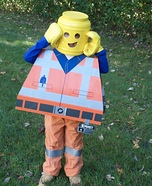 Emmet Brickowski Homemade Costume