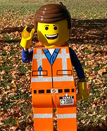 Emmet from LEGO Movie Homemade Costume